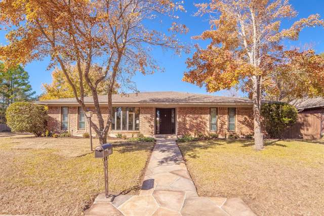1107 Woodmount Court, Denton, TX 76209 (MLS #14229110) :: The Mauelshagen Group