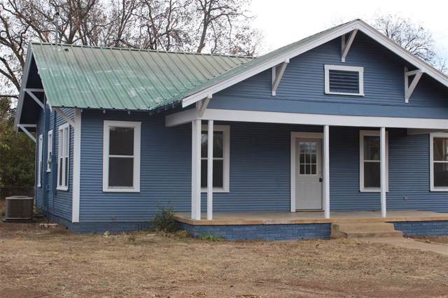 1809 S Concho Street, Coleman, TX 76834 (MLS #14229300) :: Maegan Brest | Keller Williams Realty