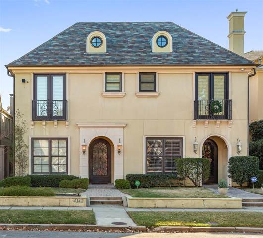4142 Prescott Avenue, Dallas, TX 75219 (MLS #14229361) :: Caine Premier Properties