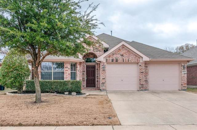 4013 Ringdove Way, Fort Worth, TX 76262 (MLS #14229370) :: Century 21 Judge Fite Company