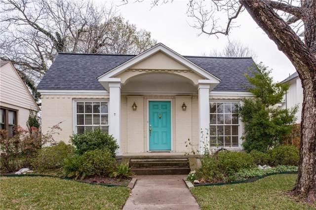 7203 La Vista Drive, Dallas, TX 75214 (MLS #14229505) :: Robbins Real Estate Group
