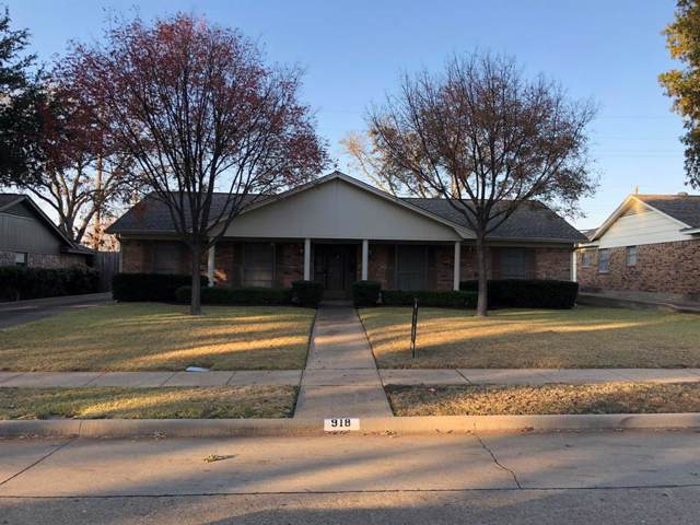 918 Vinecrest Lane, Richardson, TX 75080 (MLS #14229590) :: The Kimberly Davis Group