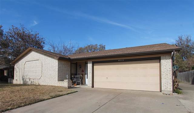 4111 Pyracantha Drive, Arlington, TX 76017 (MLS #14229614) :: Keller Williams Realty