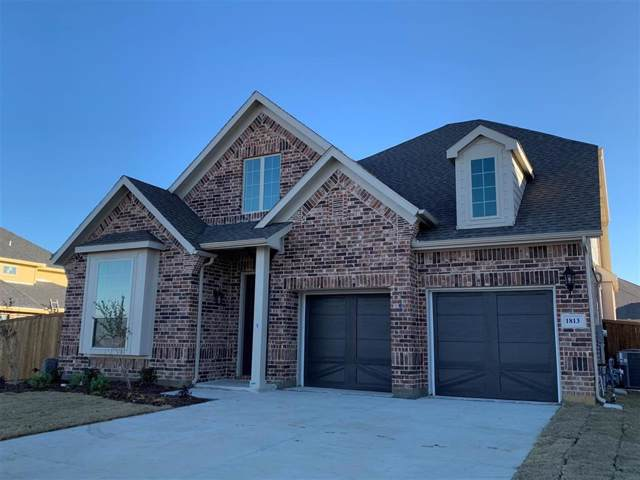 1813 Mabry Court, Mansfield, TX 76065 (MLS #14229716) :: Robbins Real Estate Group