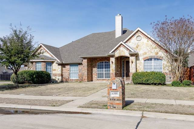 4301 Jasmine Lane, Mansfield, TX 76063 (MLS #14229767) :: The Hornburg Real Estate Group
