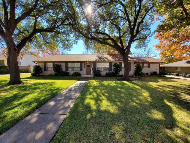 3544 Northaven Road, Dallas, TX 75229 (MLS #14229780) :: RE/MAX Town & Country