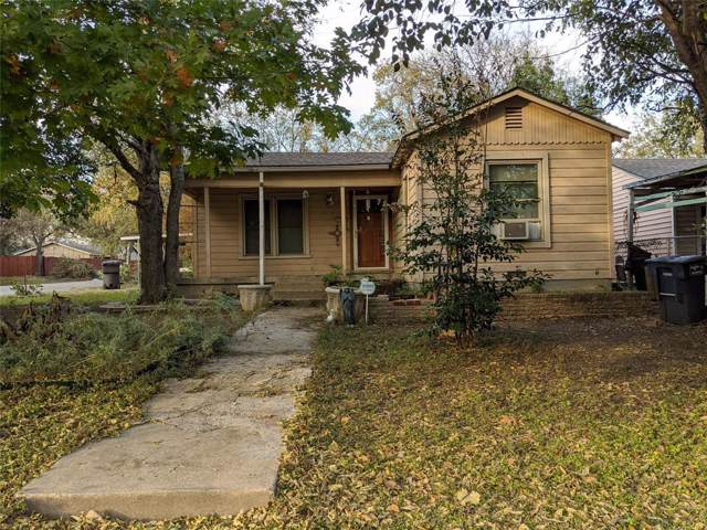 1220 W Mason Street, Fort Worth, TX 76110 (MLS #14229805) :: North Texas Team | RE/MAX Lifestyle Property
