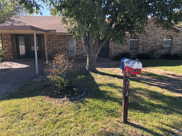 204 Terrell Street, Ranger, TX 76470 (MLS #14229833) :: The Kimberly Davis Group