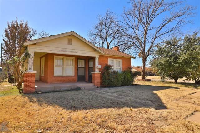 2541 Russell Avenue, Abilene, TX 79605 (MLS #14229843) :: Century 21 Judge Fite Company