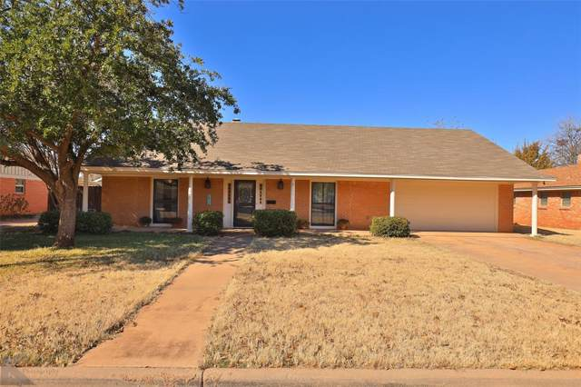 2418 Crescent Drive, Abilene, TX 79605 (MLS #14229853) :: The Chad Smith Team