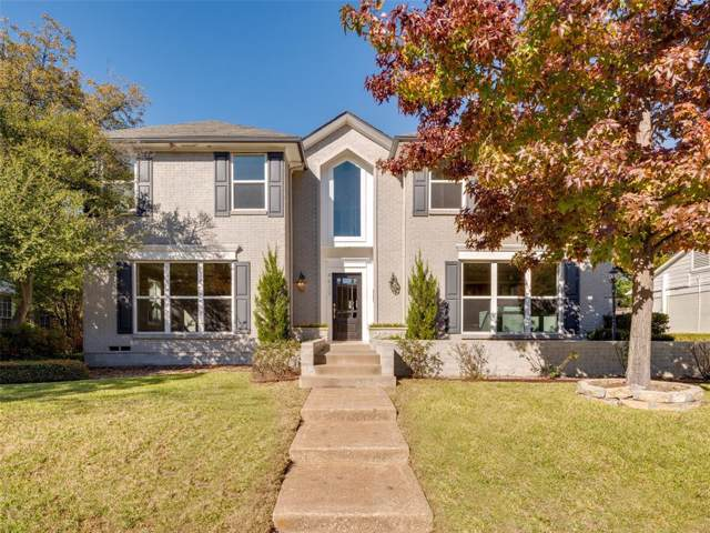 4630 Beverly Drive, Highland Park, TX 75209 (MLS #14229856) :: The Daniel Team