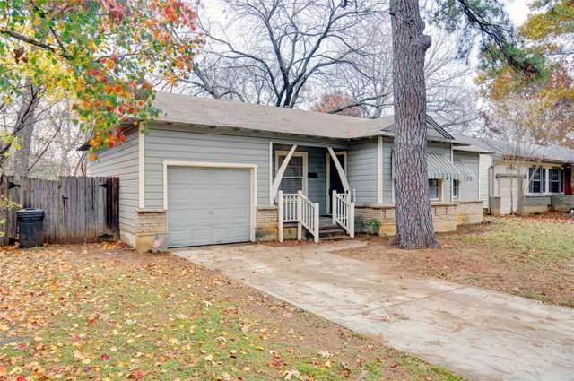 1713 Stewart Drive, Arlington, TX 76013 (MLS #14229866) :: Tenesha Lusk Realty Group