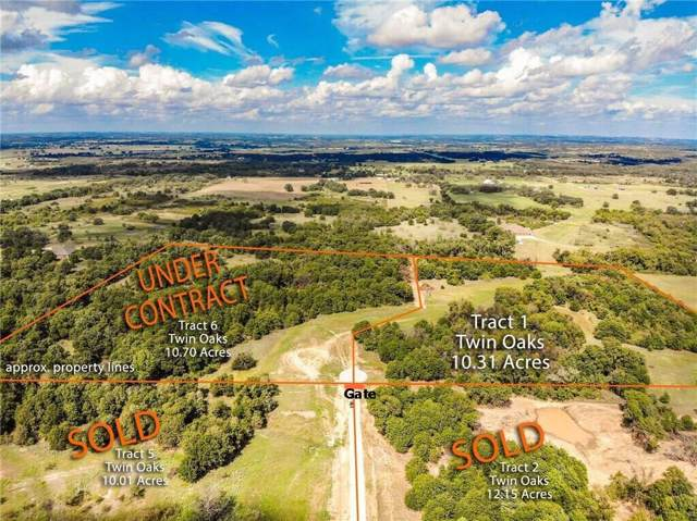 Lt 1 Twin Oaks Lane, Boyd, TX 76023 (MLS #14230137) :: RE/MAX Town & Country