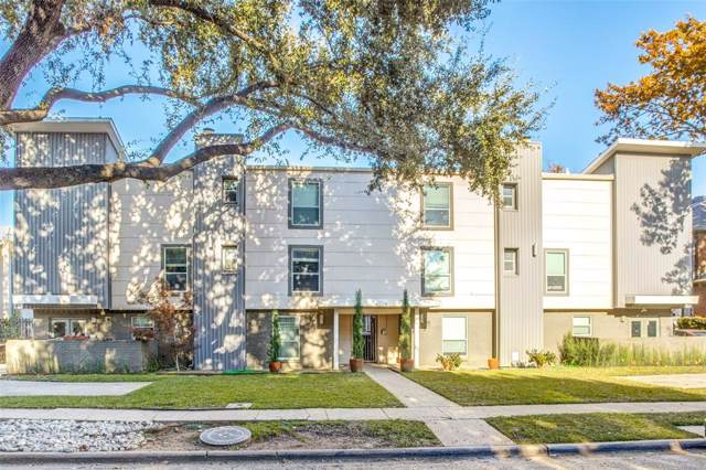 4224 Rawlins Street #106, Dallas, TX 75219 (MLS #14230156) :: HergGroup Dallas-Fort Worth