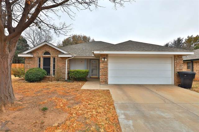 3517 Honeysuckle Court, Abilene, TX 79606 (MLS #14230259) :: Tenesha Lusk Realty Group