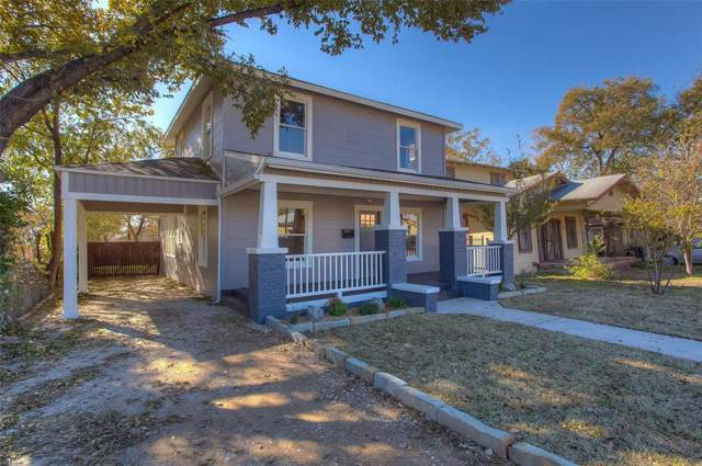 1062 E Terrell Avenue, Fort Worth, TX 76104 (MLS #14230352) :: The Chad Smith Team