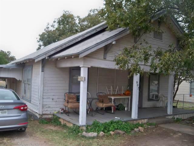 907 Wallis, Santa Anna, TX 76878 (MLS #14230432) :: Maegan Brest | Keller Williams Realty
