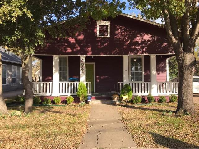 2021 Grainger Street, Fort Worth, TX 76110 (MLS #14230453) :: RE/MAX Town & Country