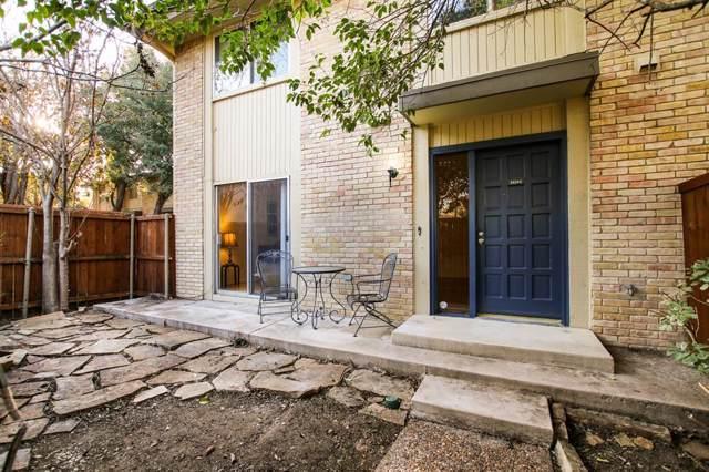 2624 Custer Parkway C, Richardson, TX 75080 (MLS #14230464) :: HergGroup Dallas-Fort Worth