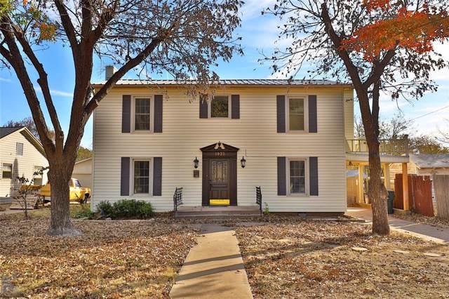 1925 Sayles Boulevard, Abilene, TX 79605 (MLS #14230540) :: The Kimberly Davis Group