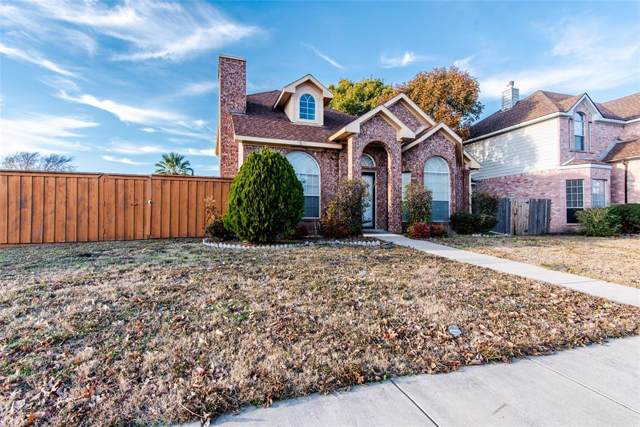 1515 Springwood Drive, Mesquite, TX 75181 (MLS #14230542) :: RE/MAX Town & Country