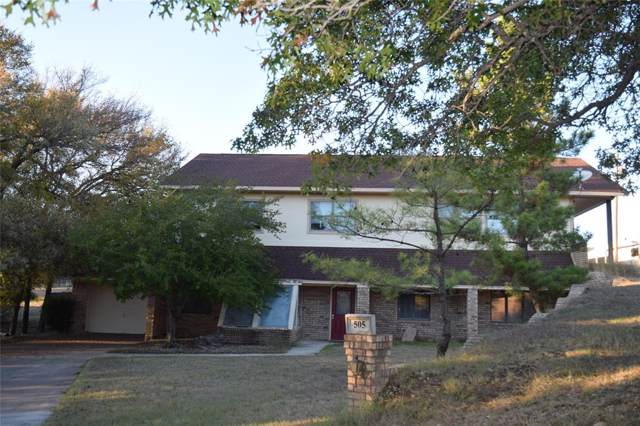 505 Valley Trail Drive, Weatherford, TX 76087 (MLS #14230584) :: RE/MAX Town & Country