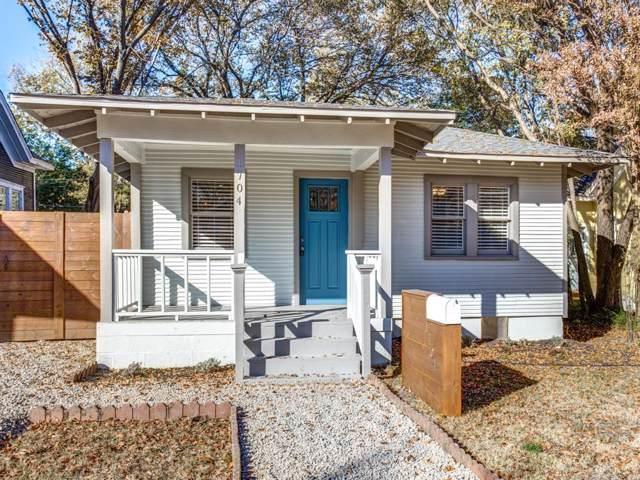 1704 S Adams Street, Fort Worth, TX 76110 (MLS #14230728) :: Lynn Wilson with Keller Williams DFW/Southlake