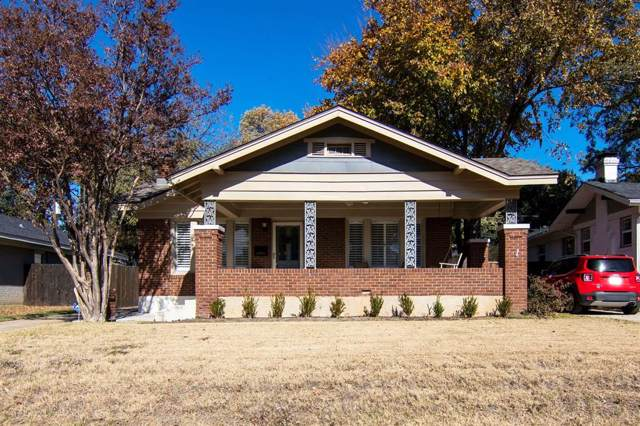 4820 Pershing Avenue, Fort Worth, TX 76107 (MLS #14230769) :: RE/MAX Pinnacle Group REALTORS
