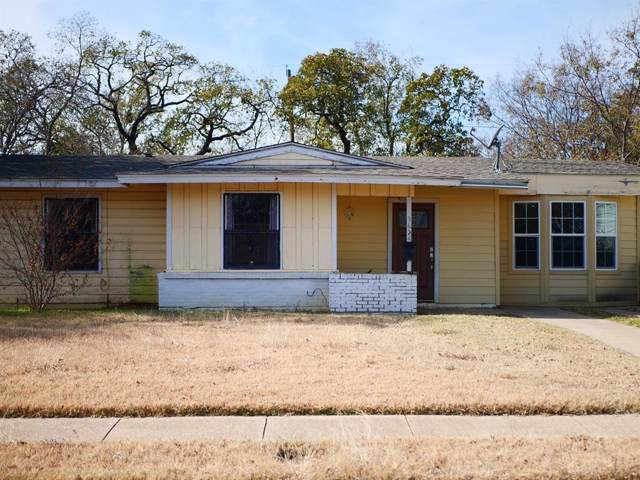 3624 Castleman Street, Fort Worth, TX 76119 (MLS #14230825) :: RE/MAX Pinnacle Group REALTORS