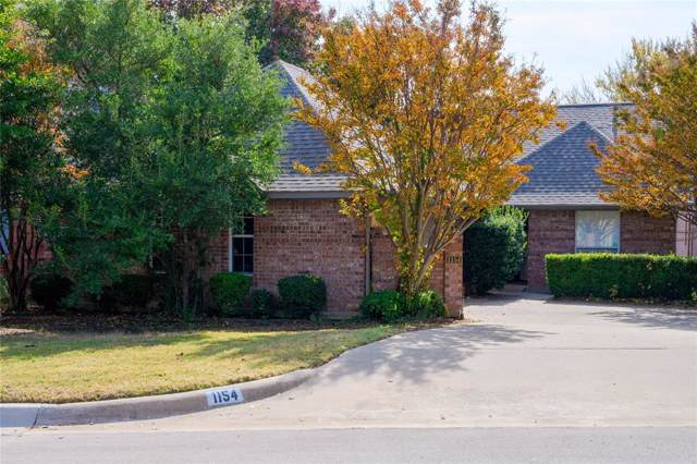 1154 Bent Oaks Drive, Denton, TX 76210 (MLS #14230879) :: The Mauelshagen Group