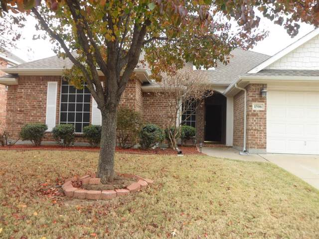 1506 Lowes Farm Parkway, Mansfield, TX 76063 (MLS #14230893) :: The Tierny Jordan Network