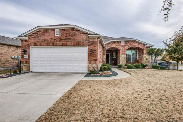 1479 Celebration Drive, Frisco, TX 75036 (MLS #14230954) :: RE/MAX Town & Country