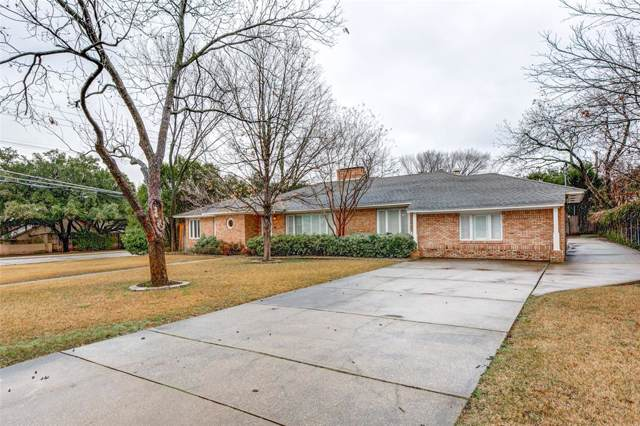 6830 Desco Drive, Dallas, TX 75225 (MLS #14230955) :: Bray Real Estate Group