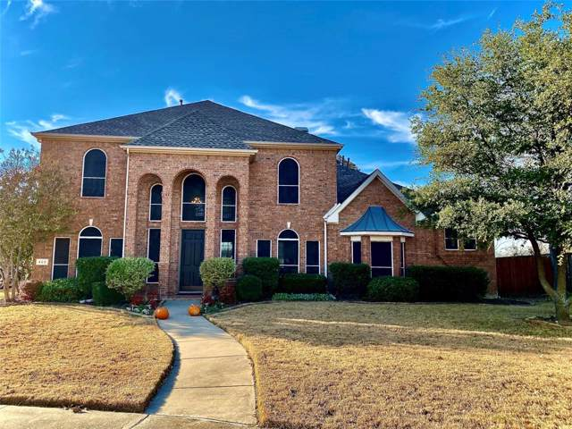 423 Goodnight Trail, Argyle, TX 76226 (MLS #14230973) :: The Mauelshagen Group