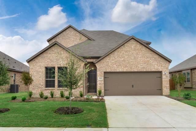 1609 Serra Drive, Little Elm, TX 75068 (MLS #14231024) :: Vibrant Real Estate