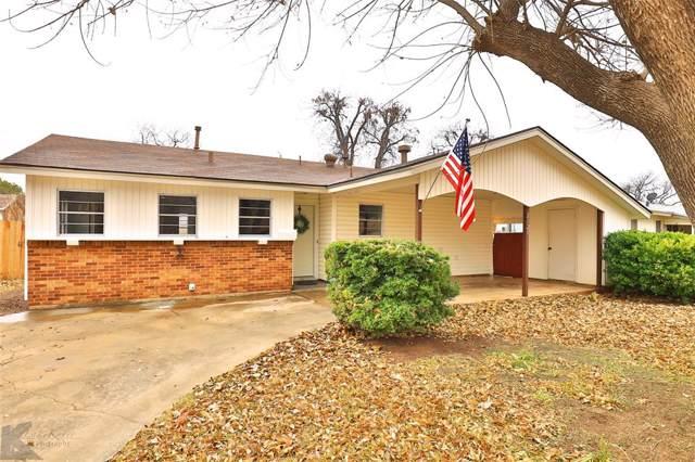 2125 S 35th Street, Abilene, TX 79605 (MLS #14231157) :: The Good Home Team