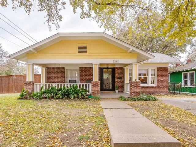 2262 Hurley Avenue, Fort Worth, TX 76110 (MLS #14231163) :: RE/MAX Town & Country