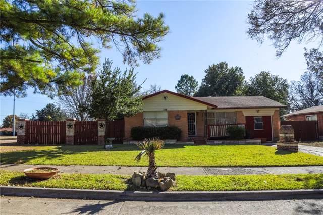 314 E Rio Grande Street, Garland, TX 75041 (MLS #14231223) :: RE/MAX Pinnacle Group REALTORS