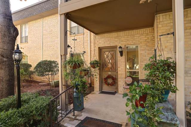 4320 Bellaire Drive S 128W, Fort Worth, TX 76109 (MLS #14231296) :: RE/MAX Town & Country