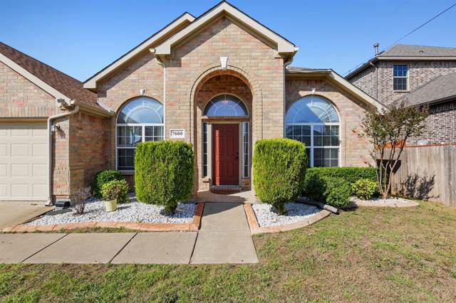 7600 Longbow Lane, Arlington, TX 76002 (MLS #14231326) :: All Cities Realty