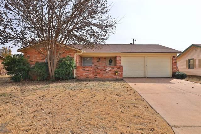 4609 N 7th Street, Abilene, TX 79603 (MLS #14231337) :: Baldree Home Team