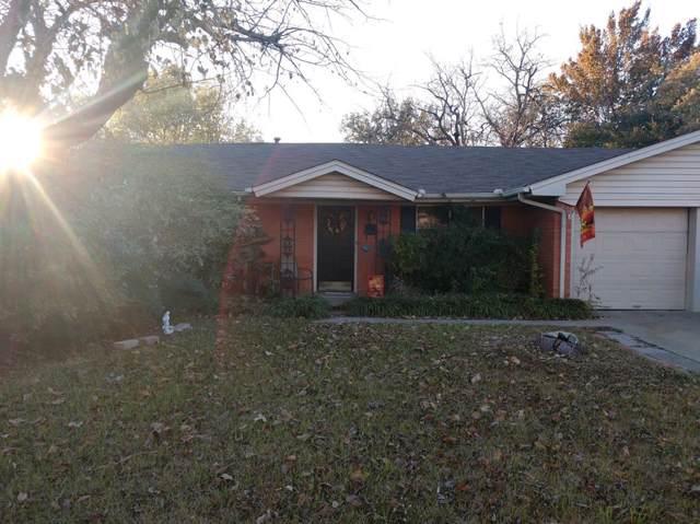 1207 Thomas Street, Denton, TX 76201 (MLS #14231396) :: The Mauelshagen Group