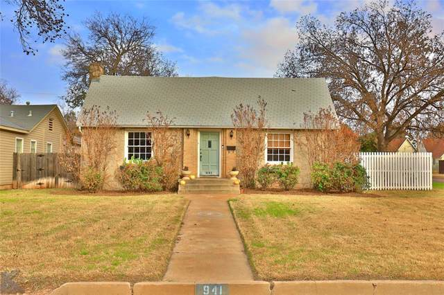 941 Ross Avenue, Abilene, TX 79605 (MLS #14231567) :: The Chad Smith Team