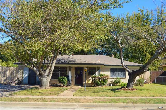 5413 Mansel Lane, Fort Worth, TX 76134 (MLS #14231762) :: RE/MAX Town & Country