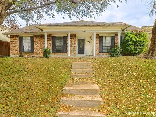 4345 Newton Street, The Colony, TX 75056 (MLS #14231845) :: Maegan Brest | Keller Williams Realty