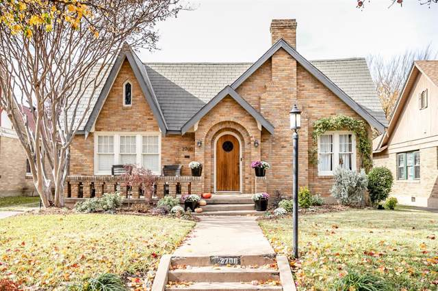 2700 6th Avenue, Fort Worth, TX 76110 (MLS #14232060) :: RE/MAX Town & Country
