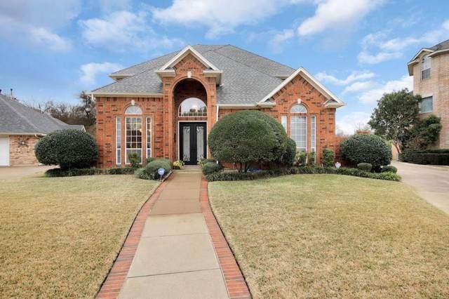 4704 Greenway Court, North Richland Hills, TX 76180 (MLS #14232251) :: The Hornburg Real Estate Group
