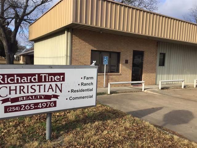 100 E Houston Street, Meridian, TX 76665 (MLS #14232367) :: Trinity Premier Properties