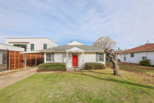 4443 Kelton Drive, Dallas, TX 75209 (MLS #14232491) :: All Cities Realty
