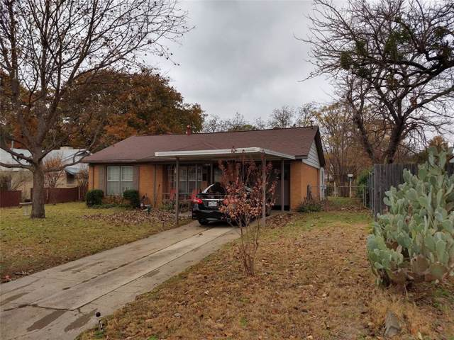 5516 Gilbow Avenue, River Oaks, TX 76114 (MLS #14232568) :: RE/MAX Town & Country